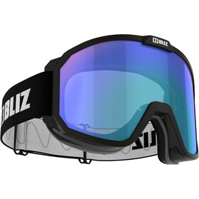 Bliz Rave Goggles Kinderen, matt black/light orange-blue multi